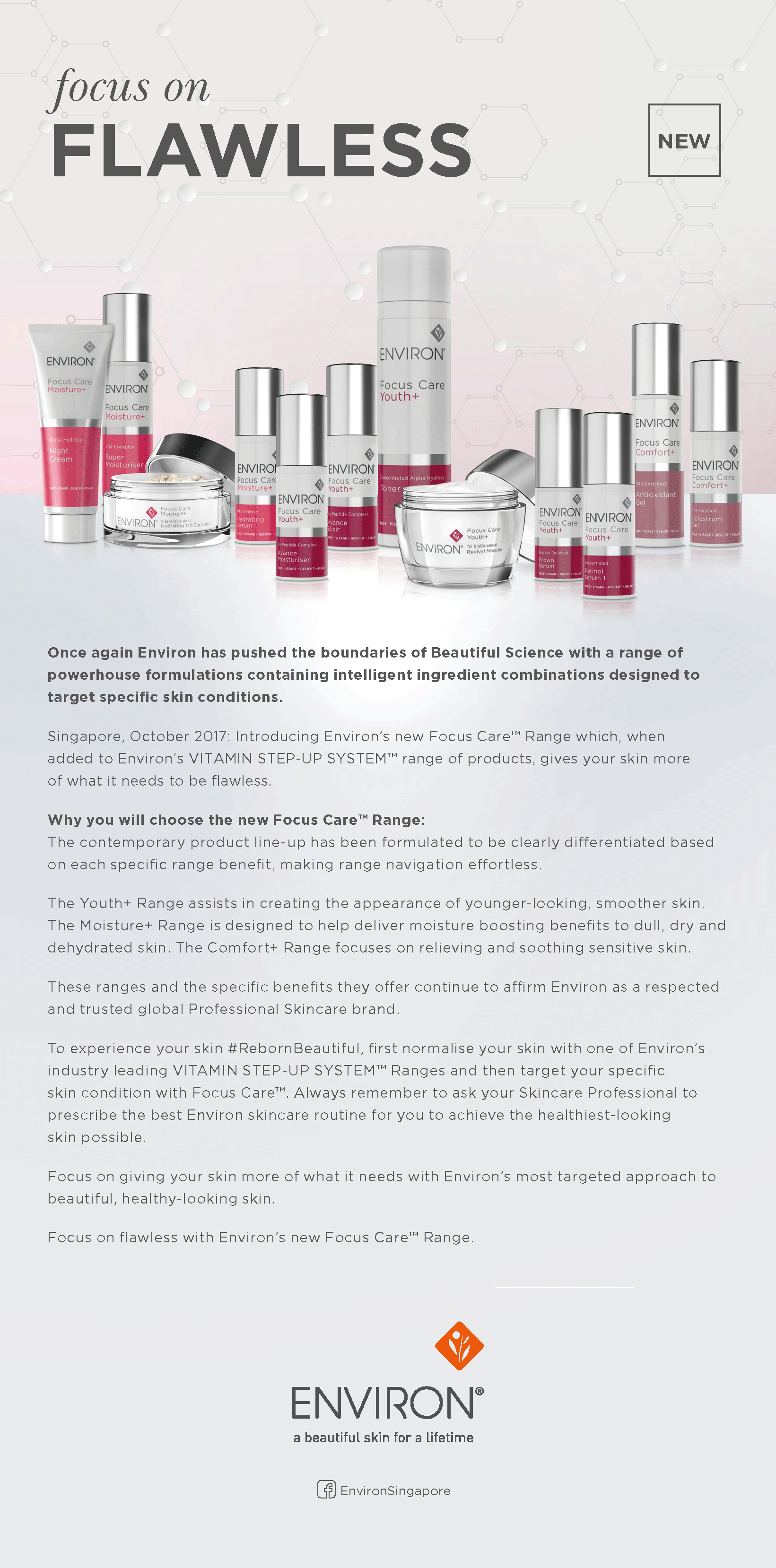 ENVIRON Focus Care Press Release