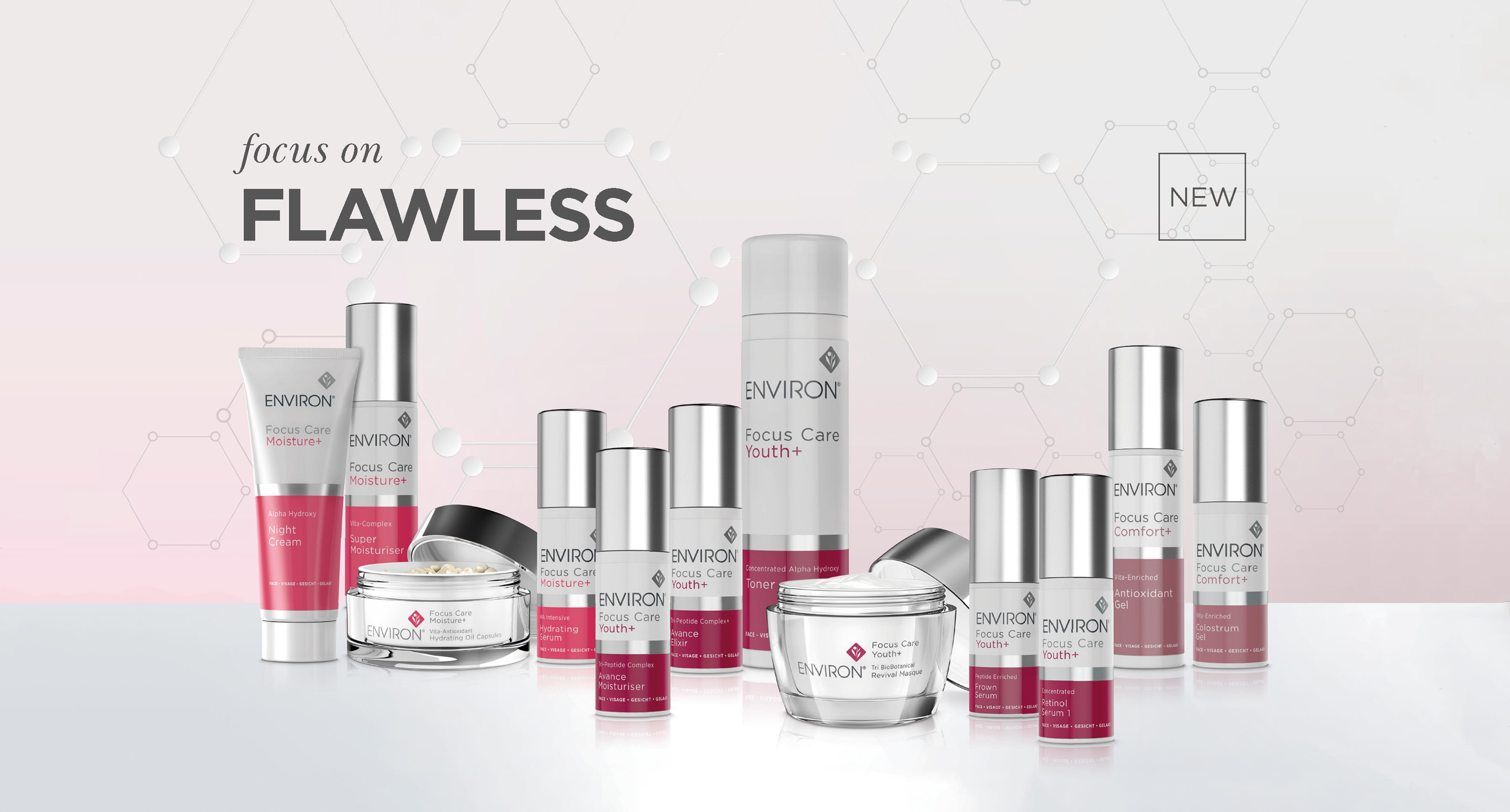 Environ Focus Care range