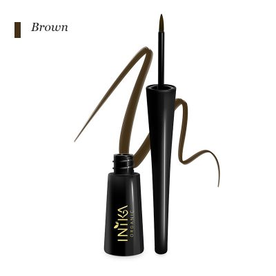 Certified Organic Liquid Eyeliner - Brown