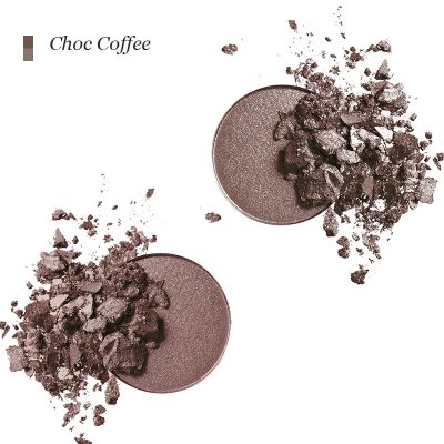 INIKA Pressed Mineral Eye Shadow Duo - Choco Coffee