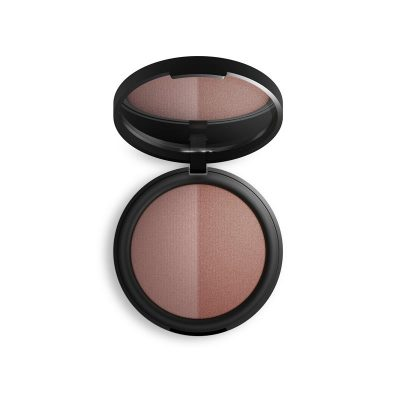 INIKA Baked Mineral Blush Duo - Burnt Peach