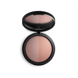 INIKA Baked Mineral Blush Duo - Top Pink Tickle