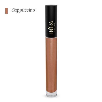INIKA Certified Organic Lip Glaze - Cappucino