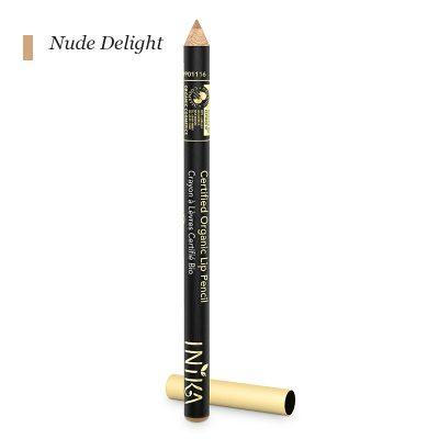 INIKA Certified Organic Lip Pencil - Nude Delight