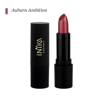 INIKA Certified Organic Vegan Lipstick - Auburn Ambition
