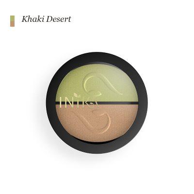 INIKA Pressed Mineral Eye Shadow Duo - Khaki Desert