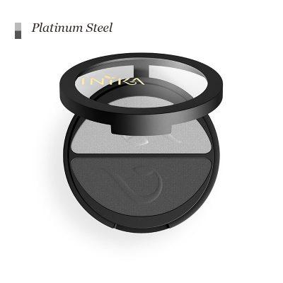 INIKA Pressed Mineral Eye Shadow-Duo - Platinum Steel