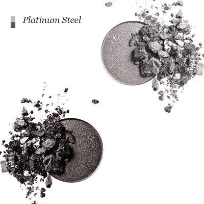 INIKA Pressed Mineral Eye Shadow Duo - Platinum Steel