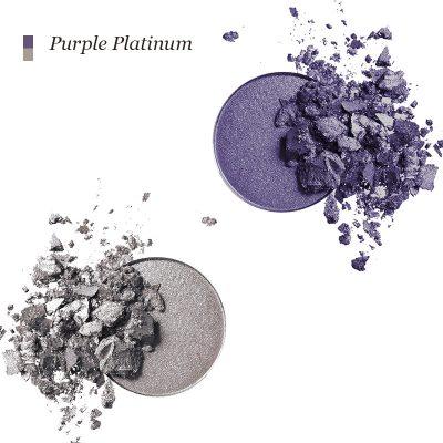 INIKA Pressed Mineral Eye Shadow Duo - Purple Platinum